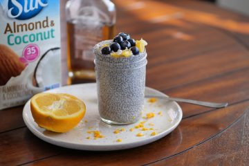 orange creamsicle chia pudding