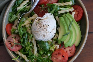 Burrata Salad With Honey Dijon Dressing