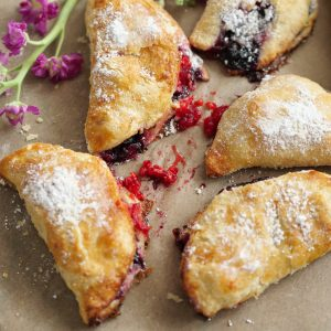 Easy Blueberry Turnovers (Dairy Free)