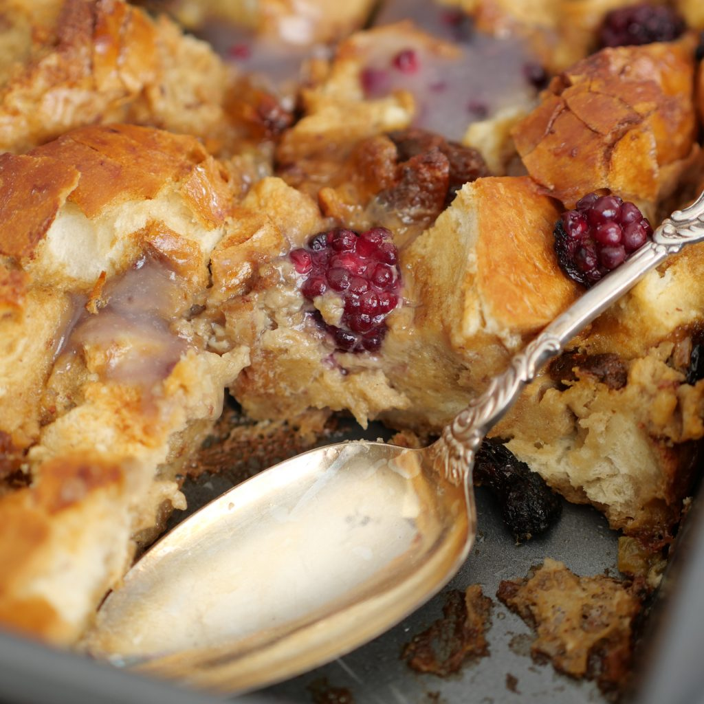 Dairy Free Bread Pudding