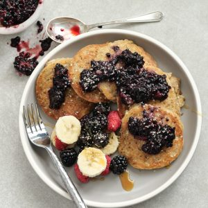 How To Make Superfood-Packed Whole Wheat Mini Pancakes