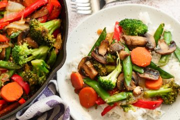 Easy Vegan Stir Fry