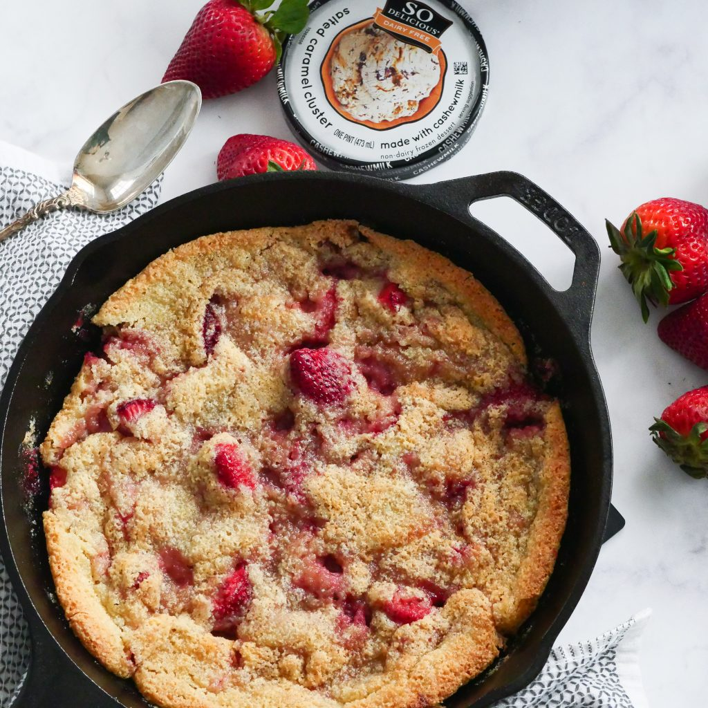 Gluten Free Strawberry Cobbler